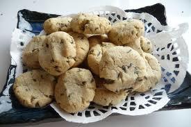 lemon lav cookies