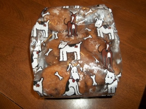 Dog treats for beef liver from our steer