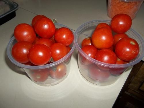 Cherry tomatoes!!!