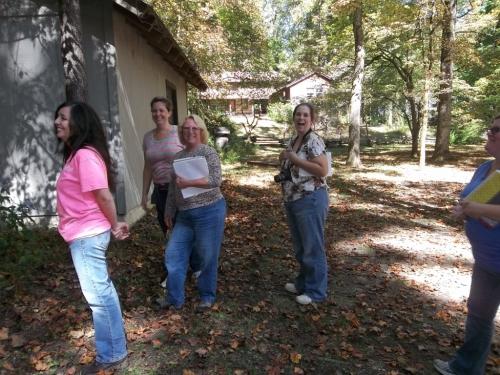 Lori, Dee, Kim and Kelly H. and part of Kjesti