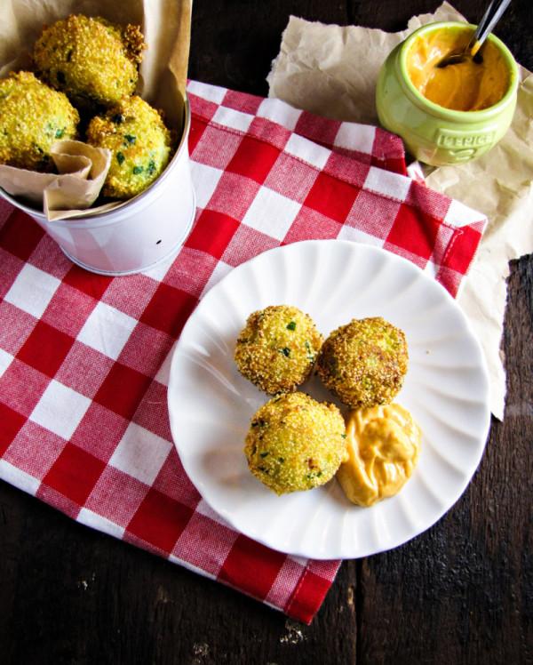broccoli hushpuppies