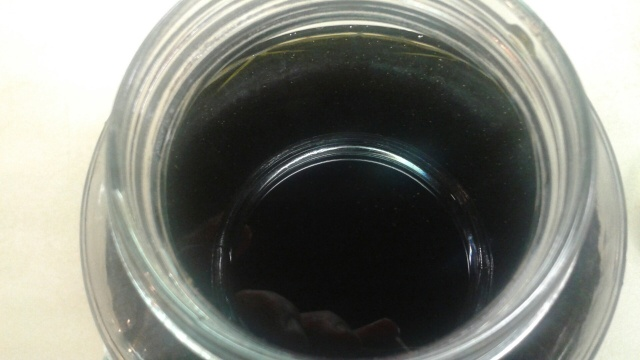 A full jar of chickweed oil