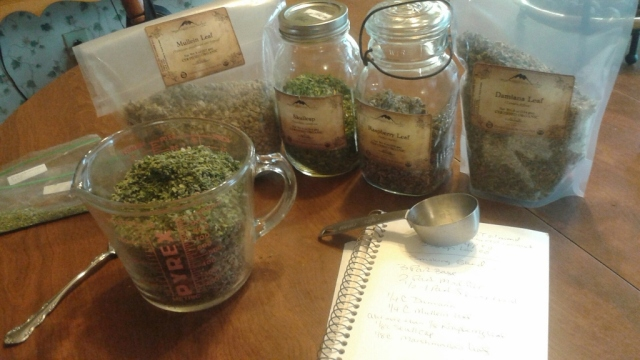 Gather all your herbs!