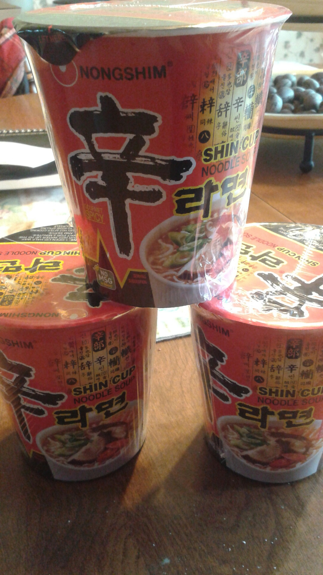 "super spicy ""fancy"" ramen soups"