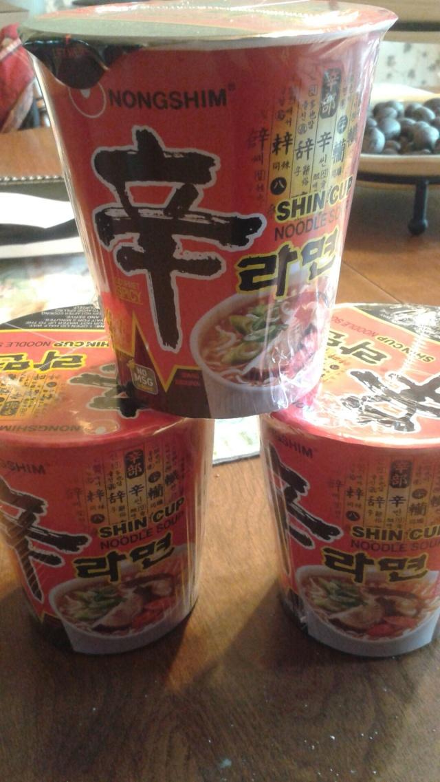 "super spicy ""fancy"" ramen soups"