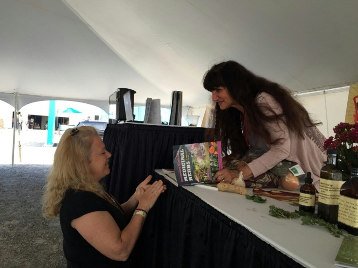 signing my book