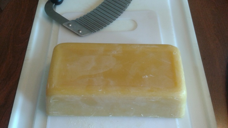 The beeswax brick