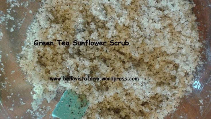 green tea scrub2